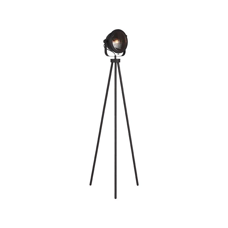 Vloerlamp Tuk-Tuk - Zwart - Metaal