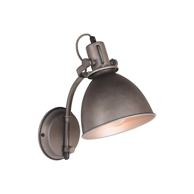 Wandlamp Spot - Burned Steel - Metaal