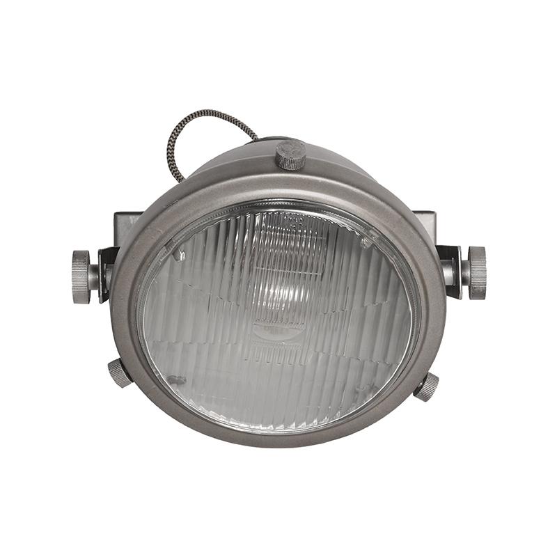 Wandlamp Tuk-Tuk - Grijs - Metaal