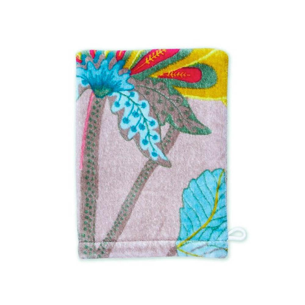 Washand Floral Fantasy khaki