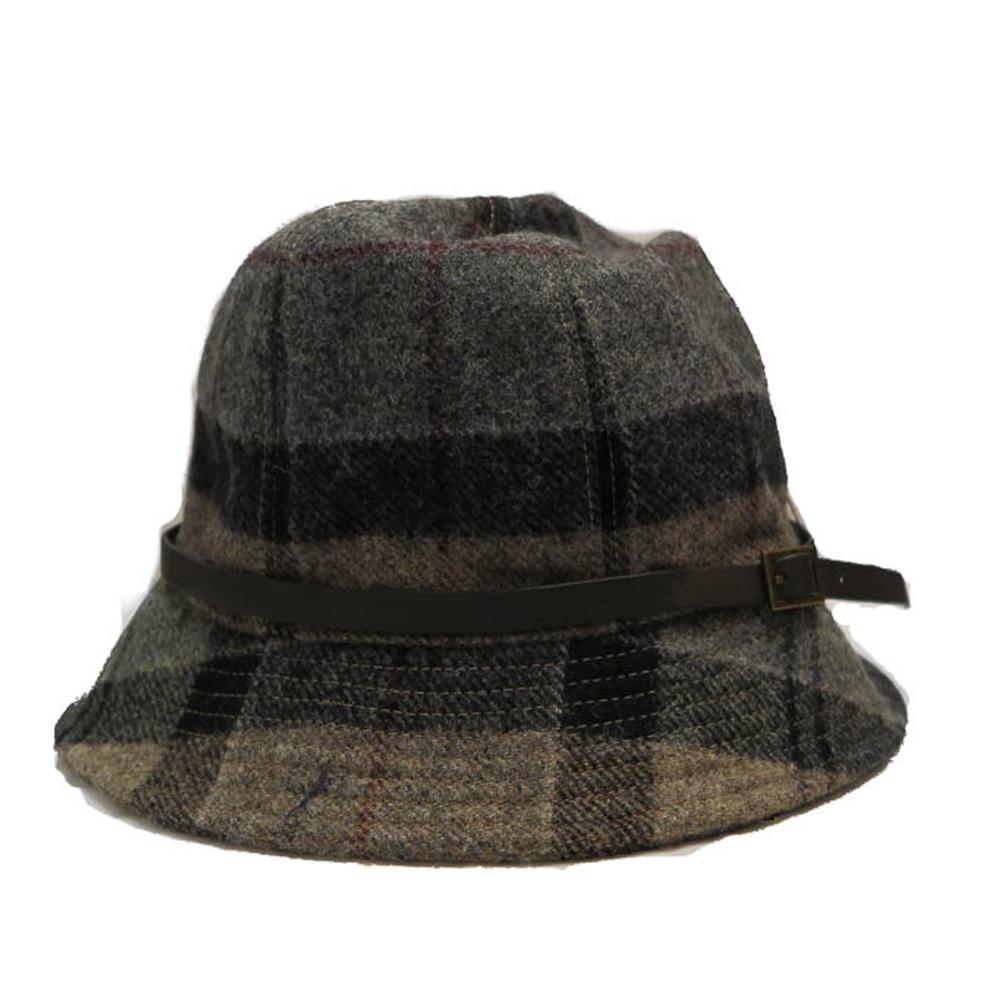 Wollen hoed Carlin Trench Tartan