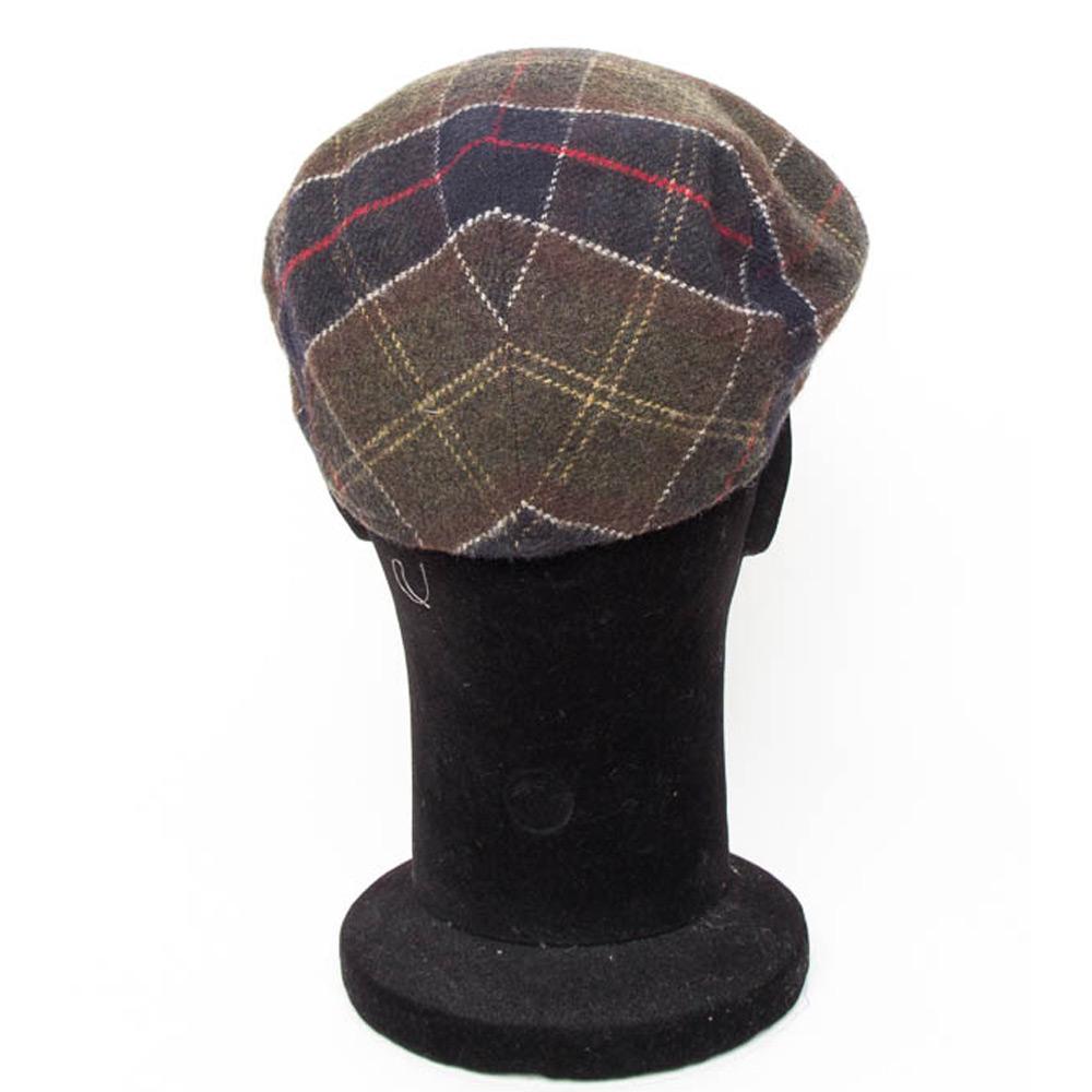 Classic Wool Tartan Cap