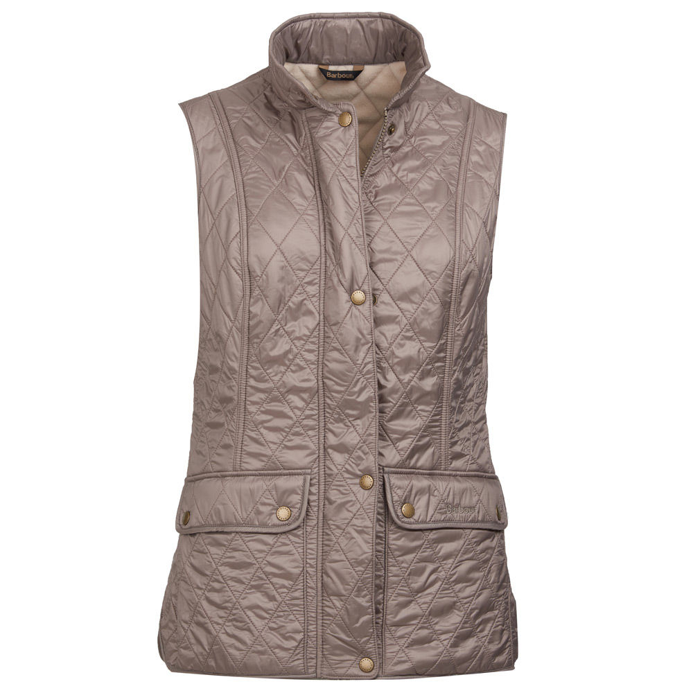 Wray Gilet Taupe/Pearl