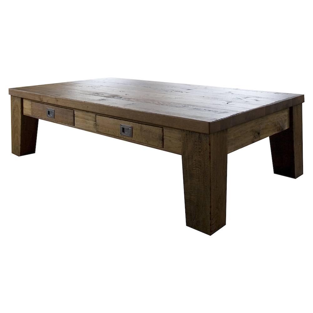 Zeist salontafel 130x80cm met 2 laden