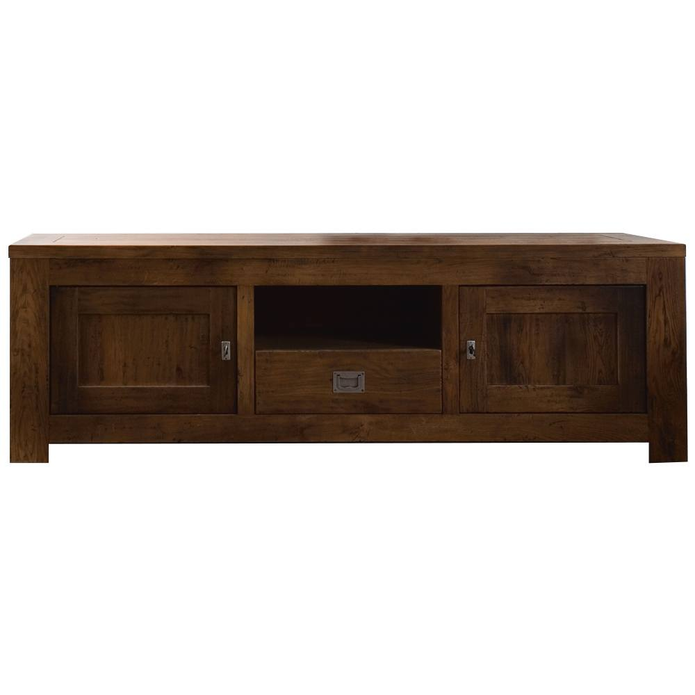 Zeist TV-Dressoir 2 drs, open vak en 1 lade